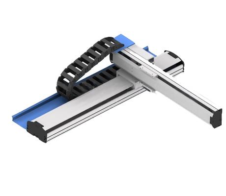 米思米模组 单轴组件滚珠丝杠型KUT1210-400-150